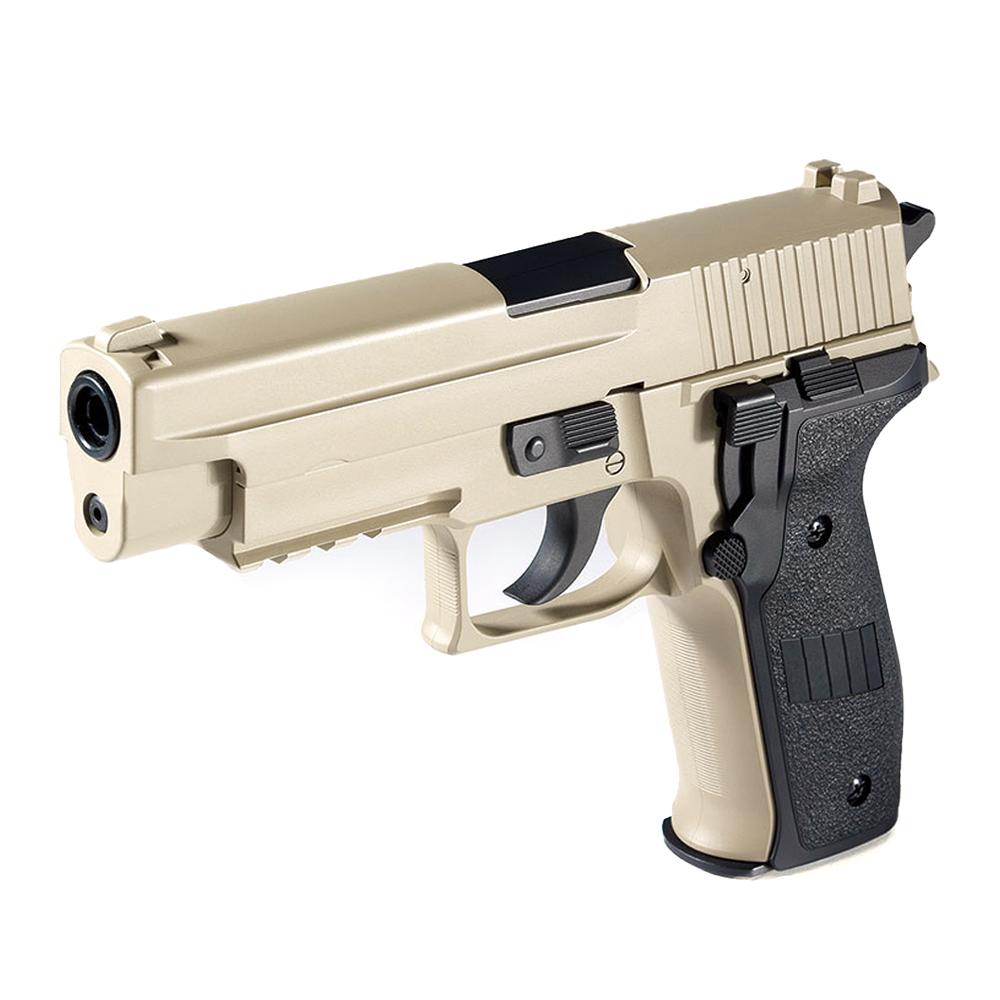 아카데미 P226 MK25 TAN 에어 핸드건 (17230T) (탄 버전)