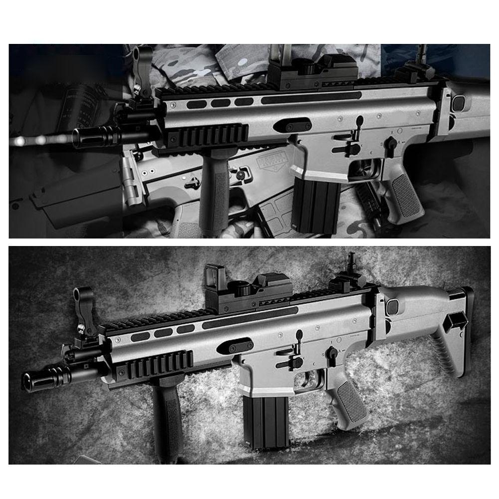 아카데미과학 FN SCAR-L CQC 스카 전동건 (BLACK) (17413)