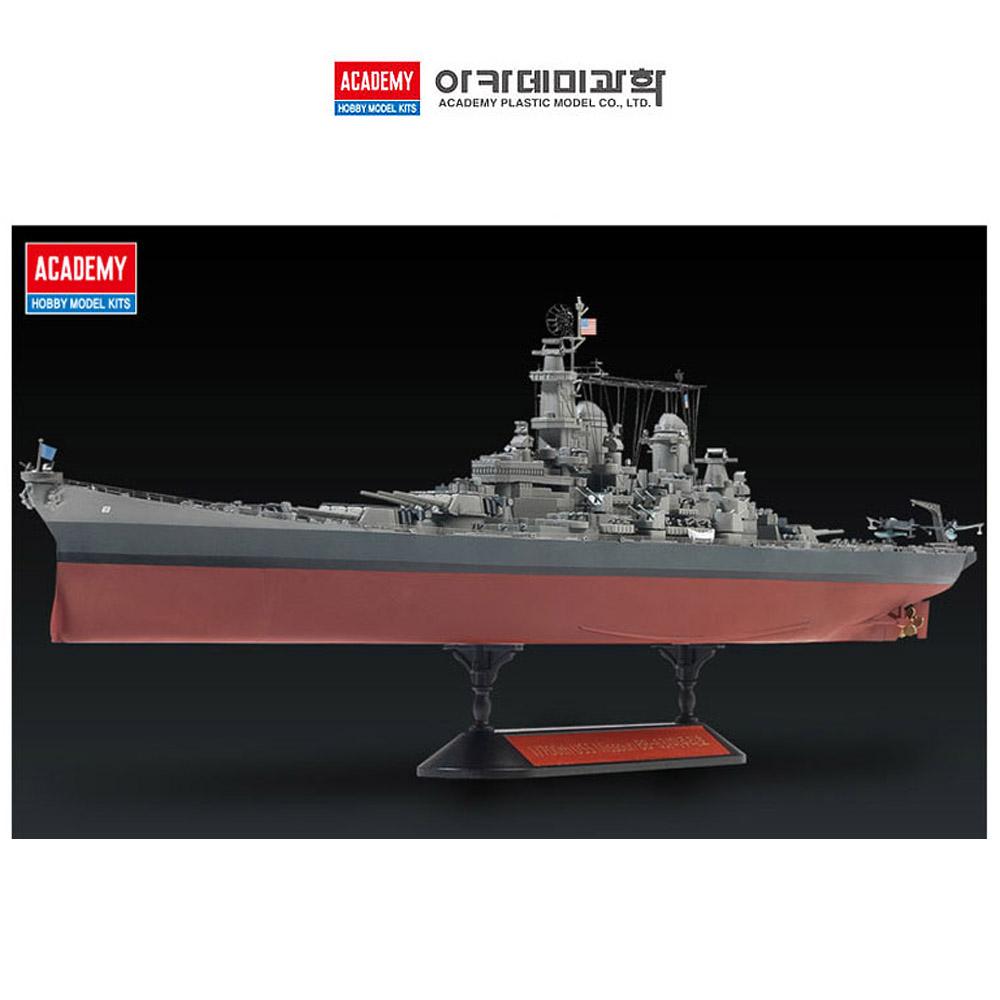 아카데미과학 1대700 미해군 전함 미주리 모델러 에디션 (14223)