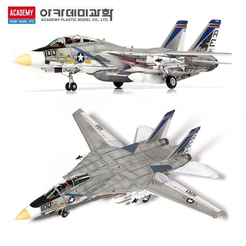 아카데미 1대72 미해군 F-14A VF-143 푸킨독스 (12563)