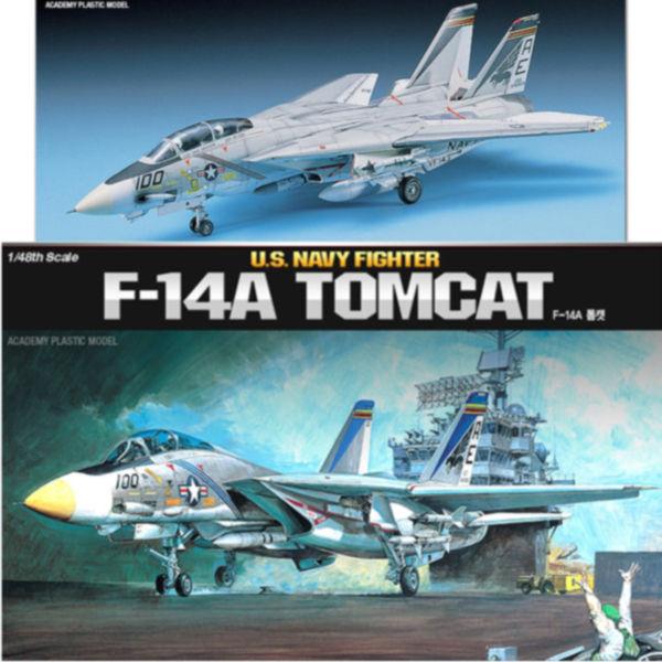 아카데미 프라모델 1/48 F-14A 톰캣 (12253)