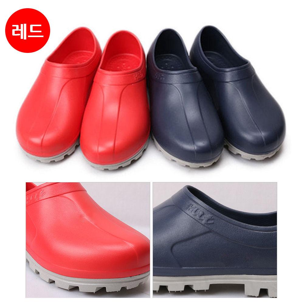 선코리아 주방 다용도 신발 (레드) (택1)