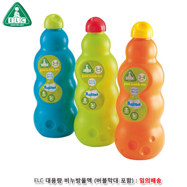 ELC 대용량 비누방울액 리필 (버블막대 포함)