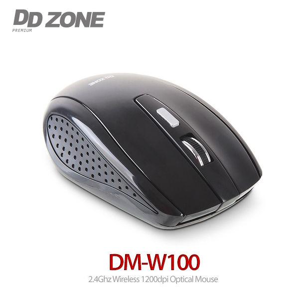 DDZONE 무선마우스 (DM-W100) (블랙)