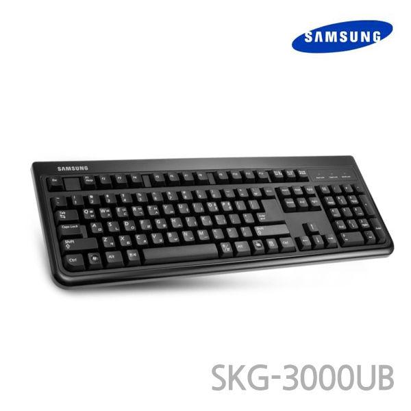 삼성전자 USB 키보드 (멤브레인) (106키) (블랙) (SKG-3000UB)
