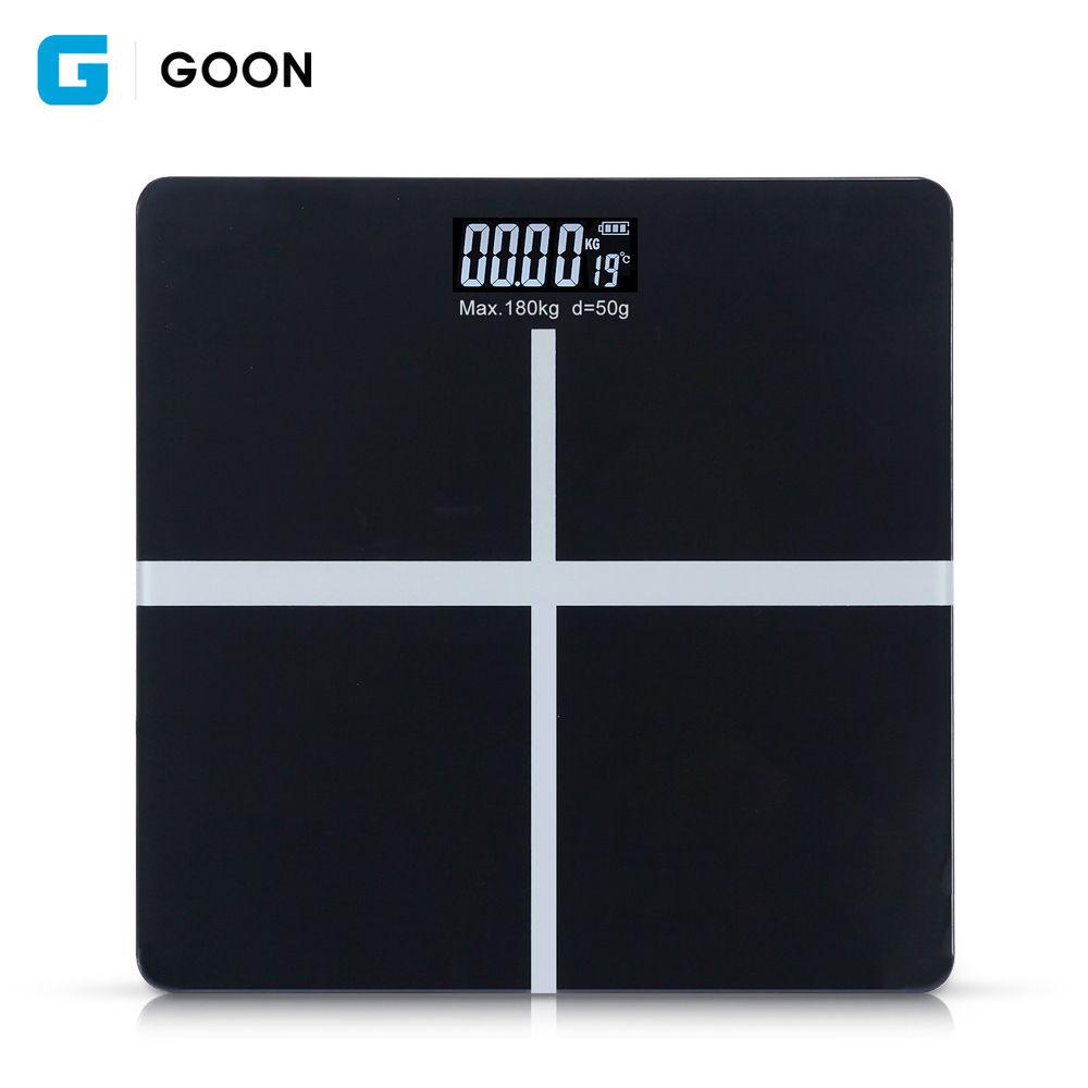 GOON 디지털 체중계 (블랙)