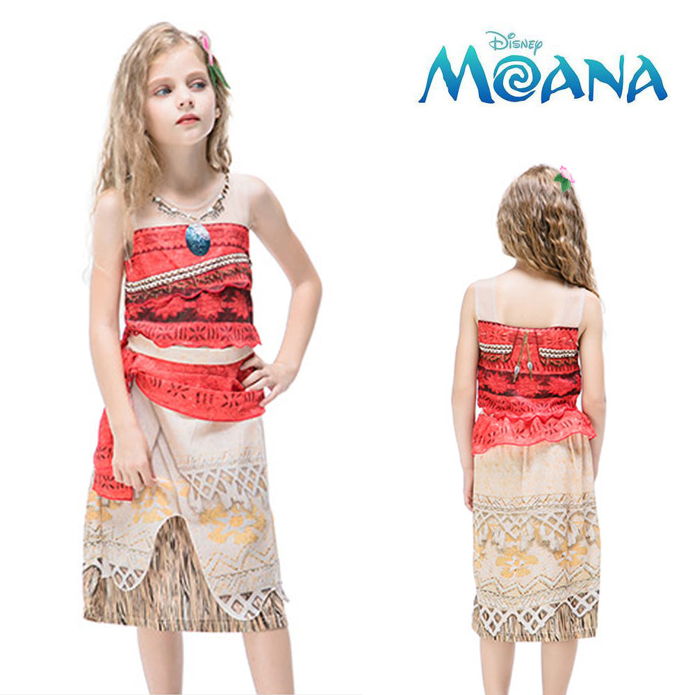 한중 모아나 드레스 (택1)