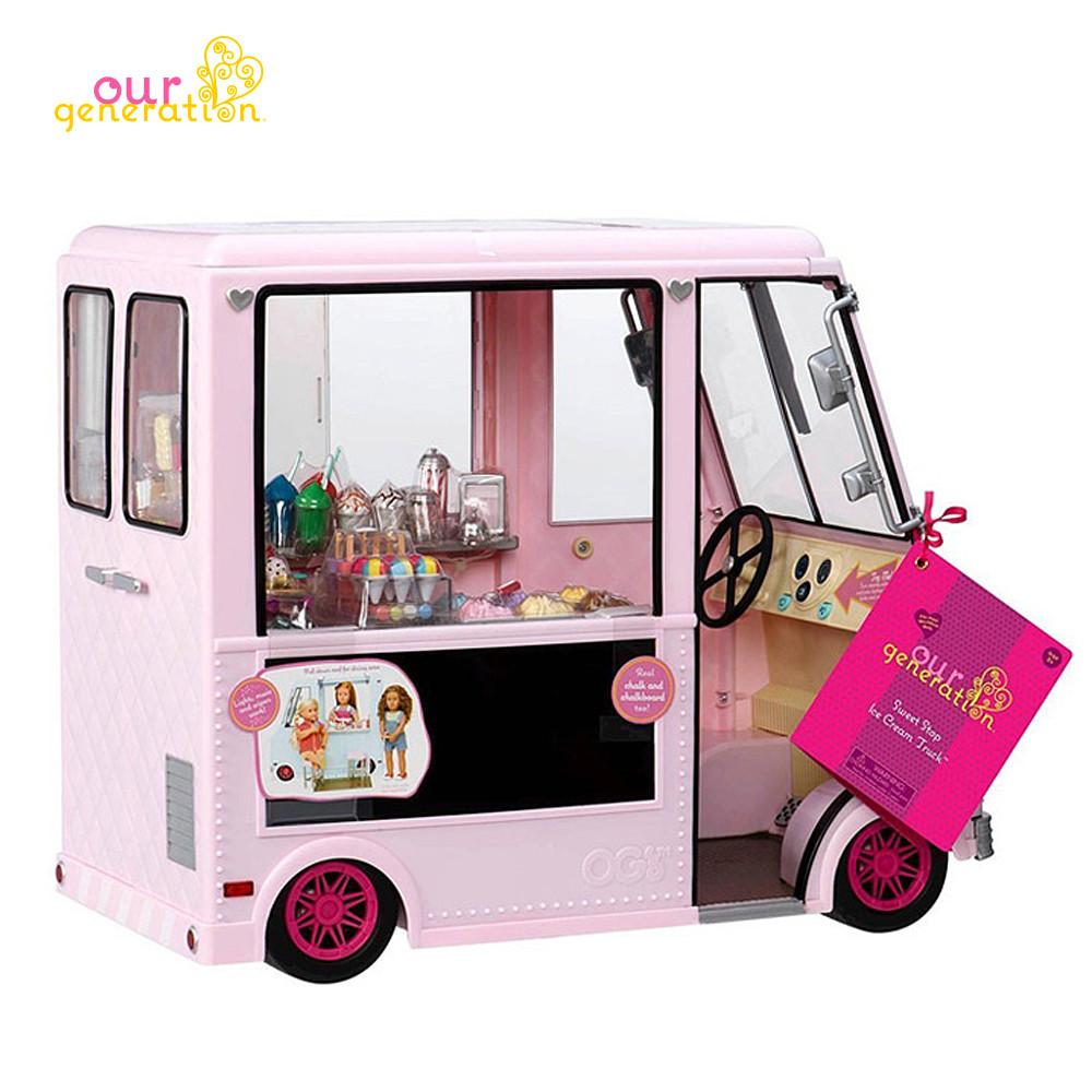 오지돌스 아이스크림 트럭 (핑크)