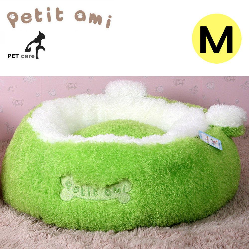 쁘띠아미 뽀글이 구름방석 (M) (그린)