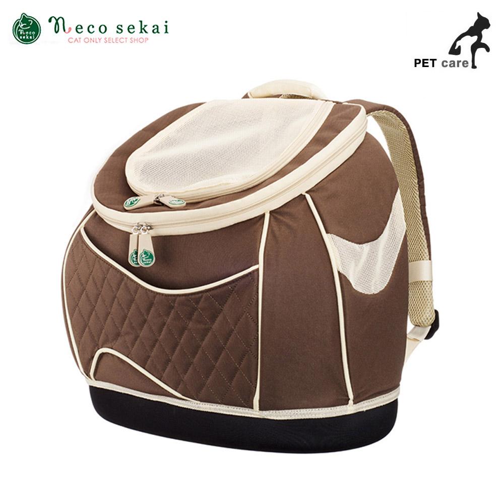 네코세카이 럭색 (RuckSack Carry) (브라운)