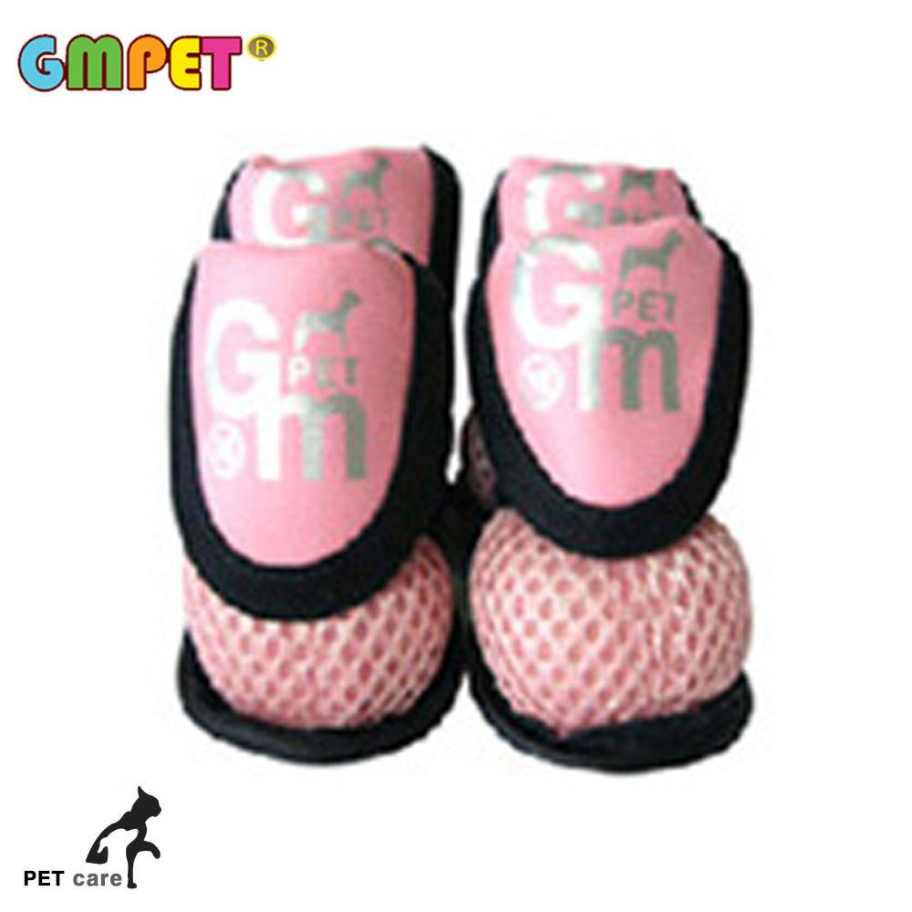 지엠펫 에어매쉬 애견신발 (핑크) (L)