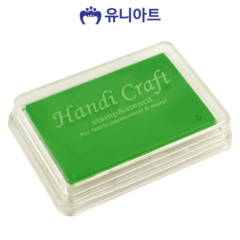 유니아트 잉크패드 (중) (녹색)