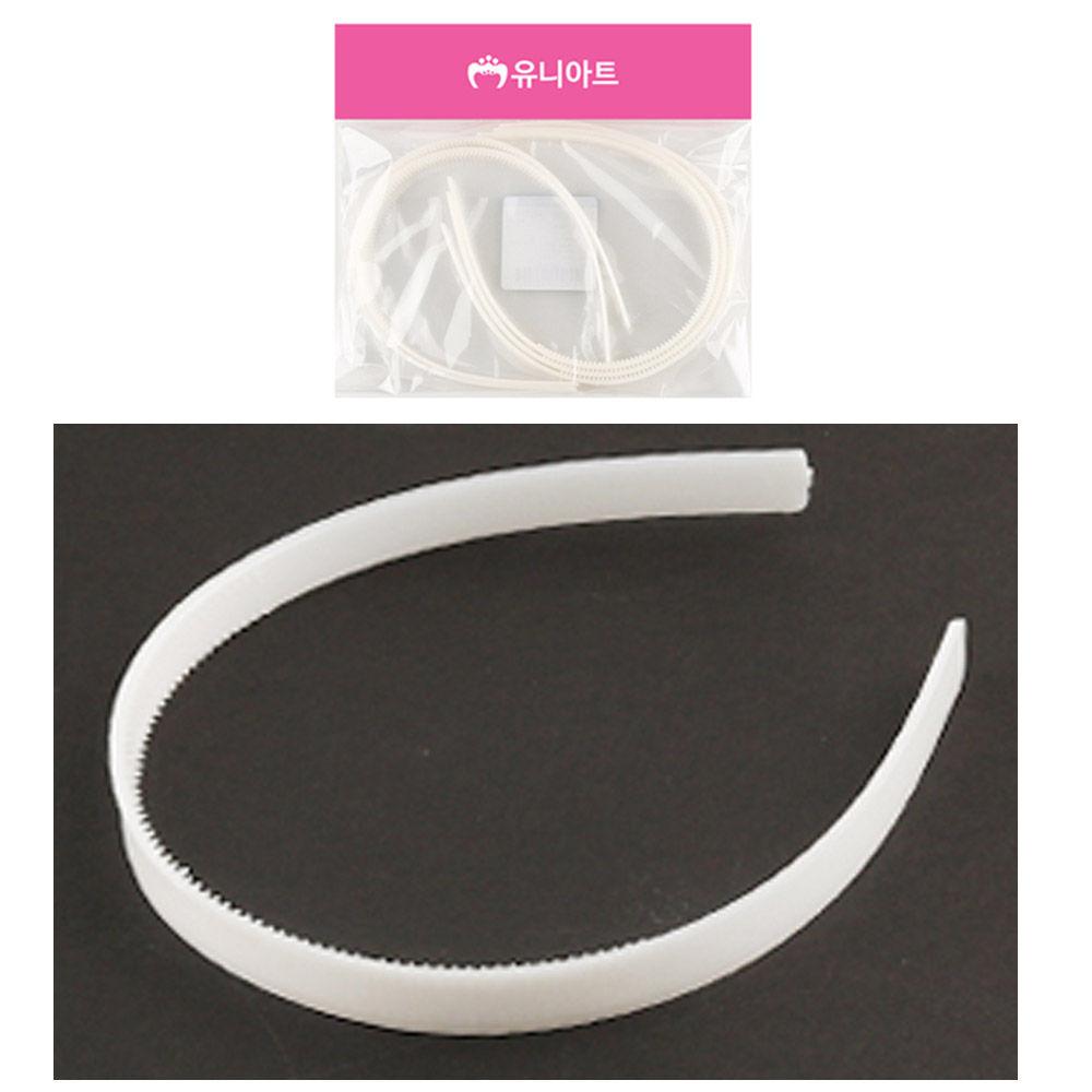 유니아트 2000 머리띠 (흰색)