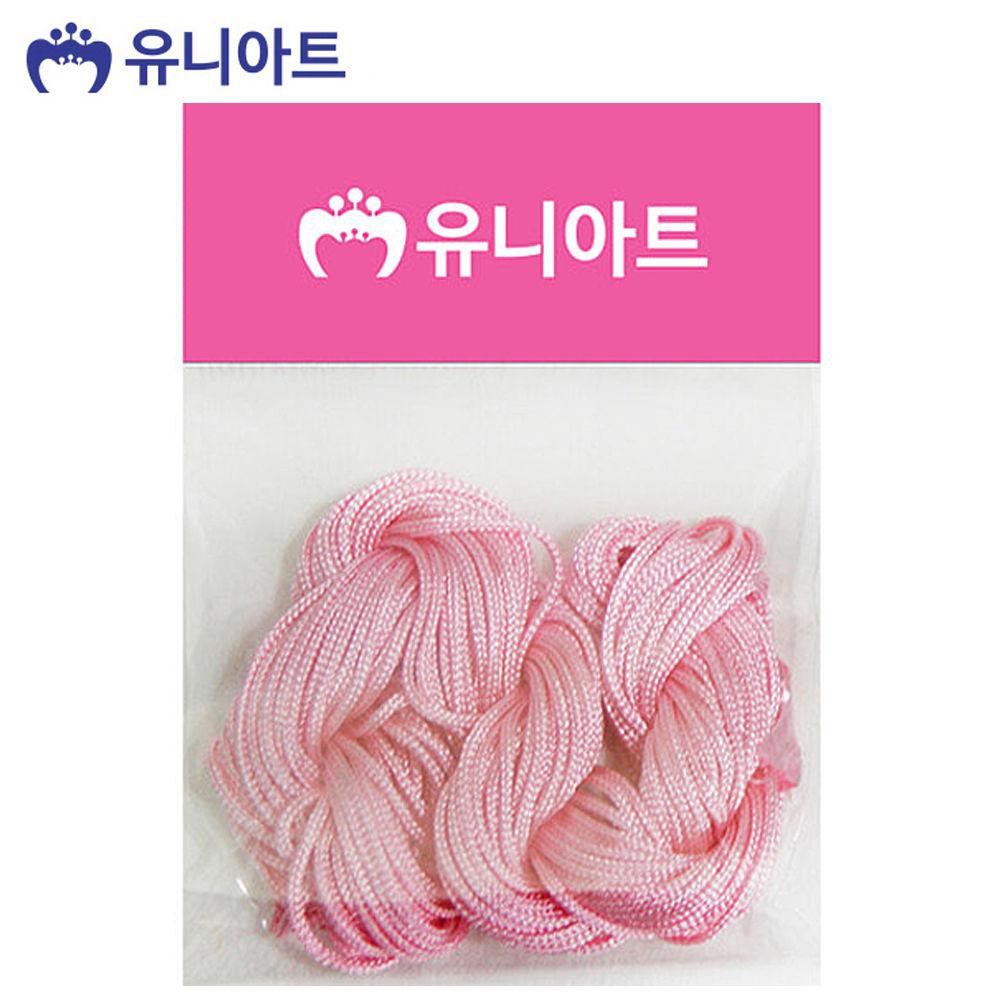 유니아트 (매듭) 1500 매듭실 (분홍)