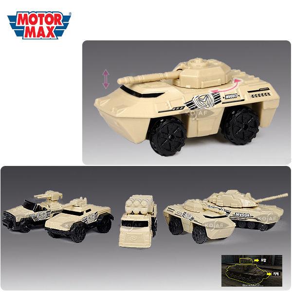 모터맥스 3인치 군용차량 5P세트 (76075)