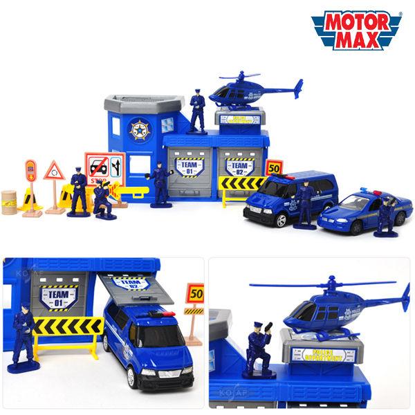 모터맥스 경찰서 놀이세트 20P (78170)