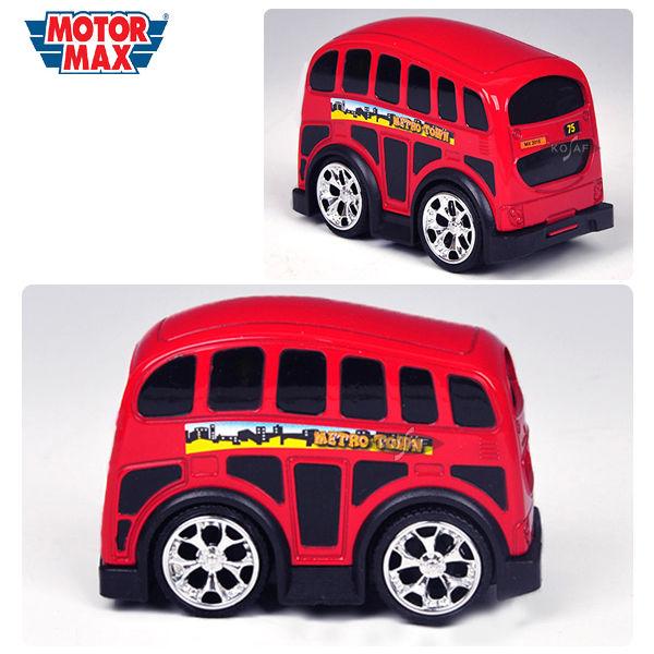 모터맥스 4인치 런던버스 (풀백카 78477)