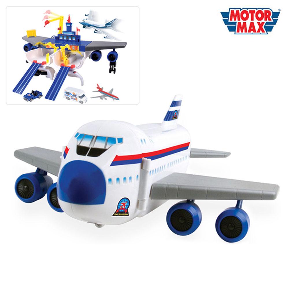 모터맥스 변신비행기놀이세트 (78145)
