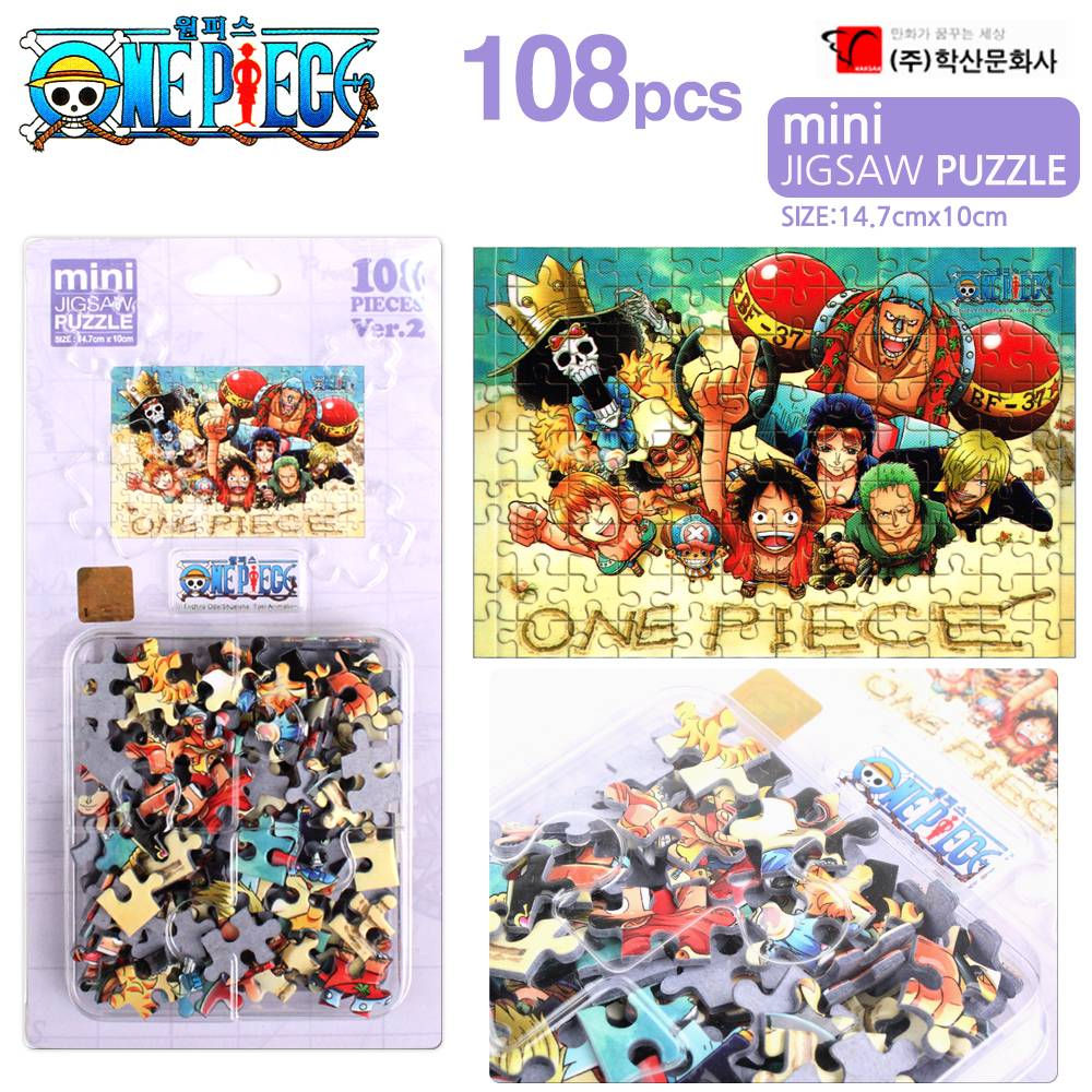 학산문화사 원피스 미니퍼즐 108pcs 스마일