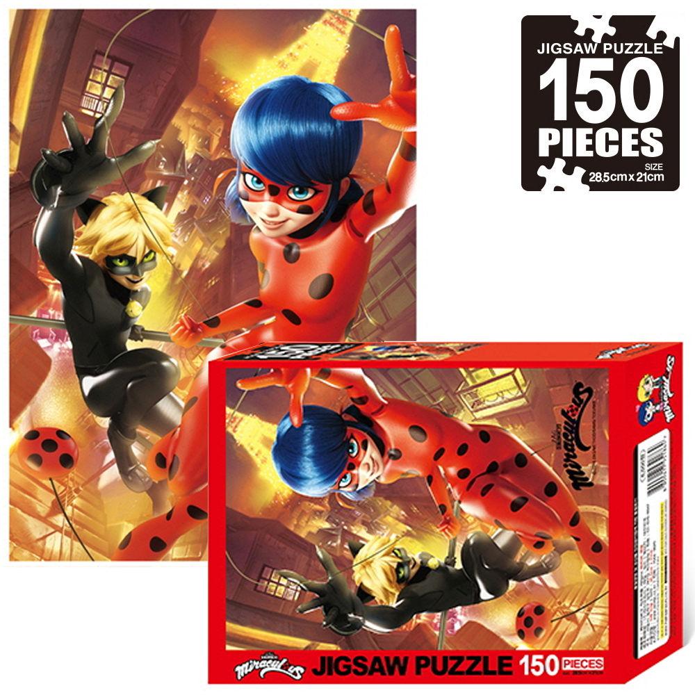 학산문화사 미라큘러스 레이디버그 직소퍼즐 150pcs (파리의 영웅)
