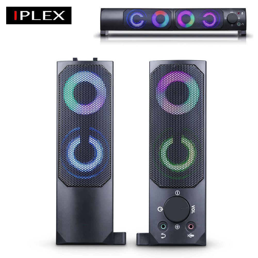 IPLEX 분리형 사운드바 스피커 (IPBS-RGBK100)