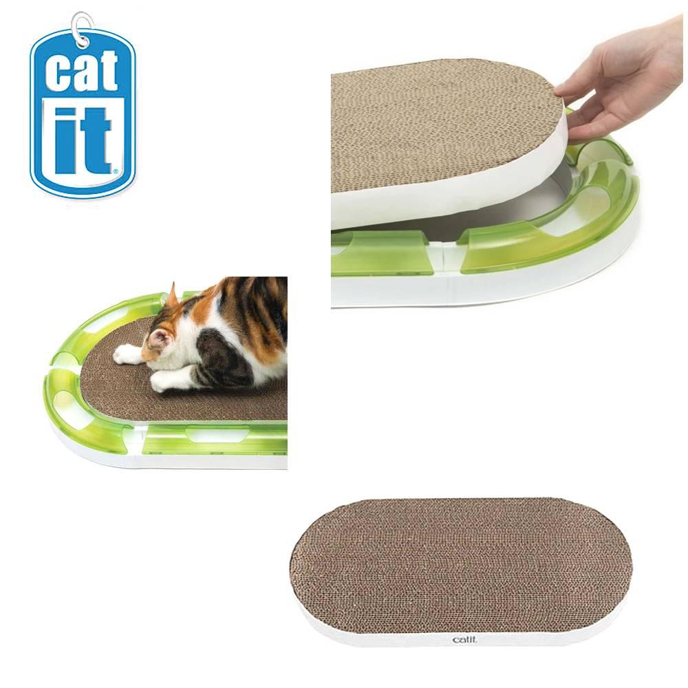하겐 캣잇 2.0 타원형 고양이 스크래쳐 (43170)