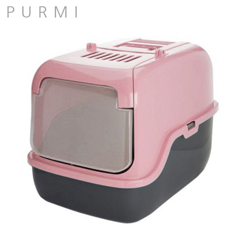 푸르미 3 Door 고양이 화장실 (인디핑크)