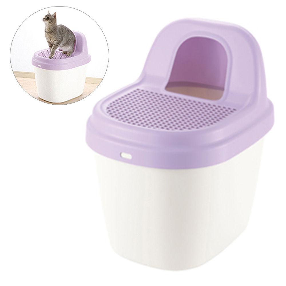 리첼 코럴 모래제거 고양이 화장실 (퍼플) (56131)