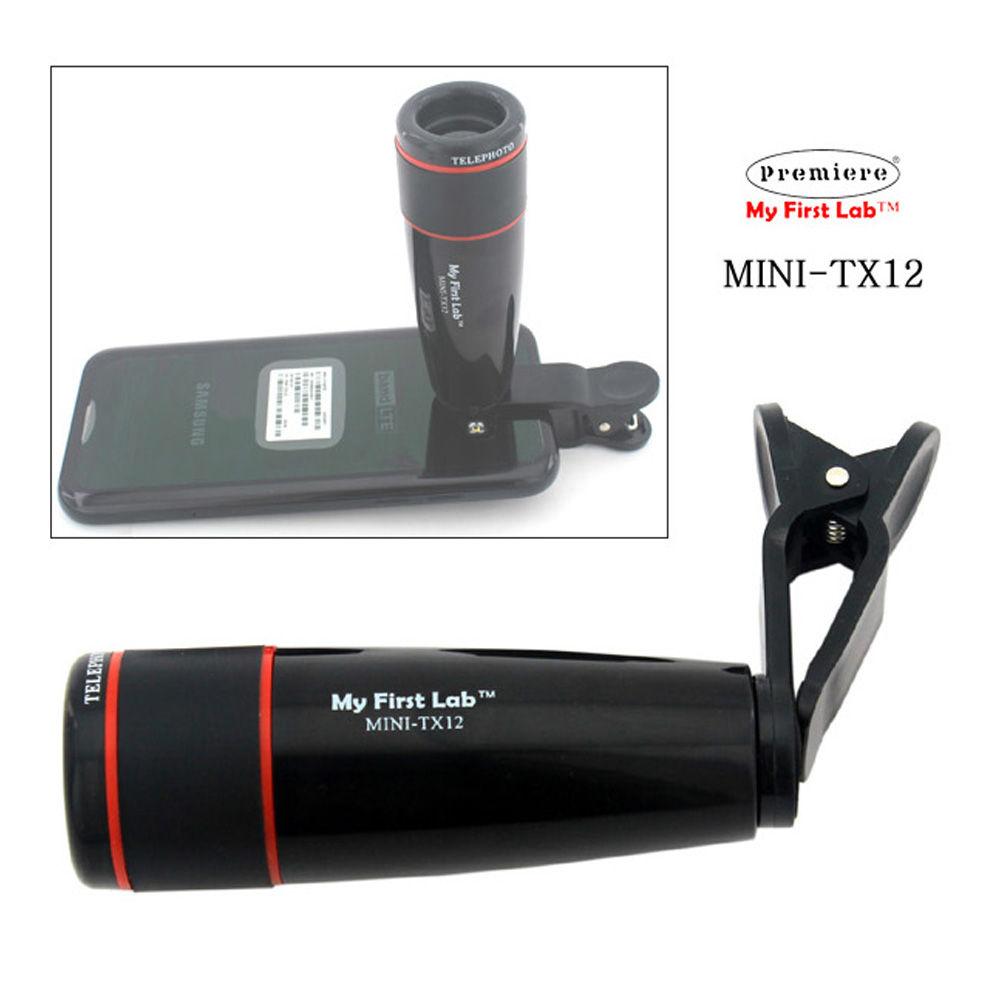 프리미어 핸드폰 카메라 망원경 (12X) (MINI-TX12)