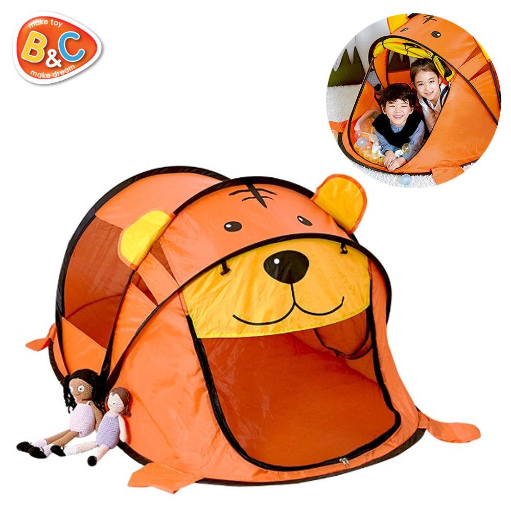 비앤씨 호랑이 팝업 텐트