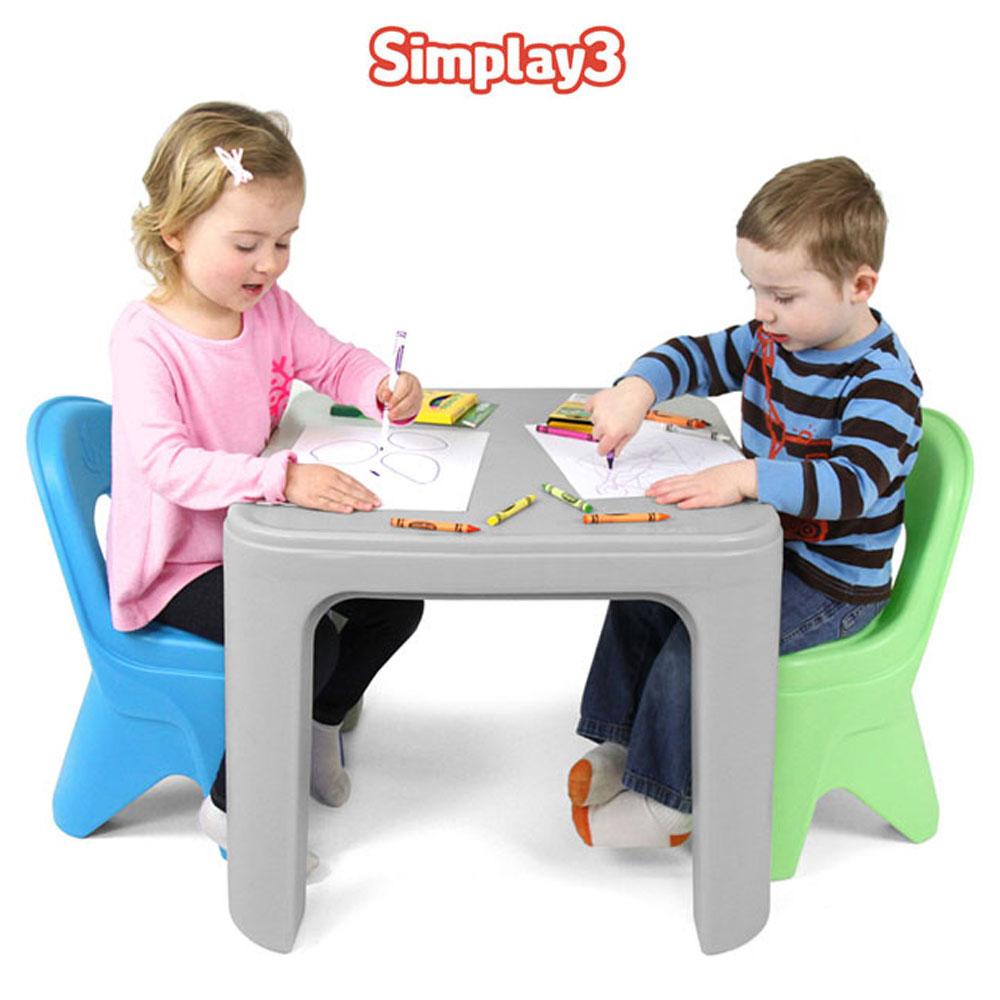 심플레이3 책상의자세트 (60801)