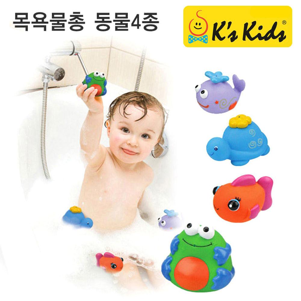 케이스키즈 목욕물총동물4종 (KA10582)