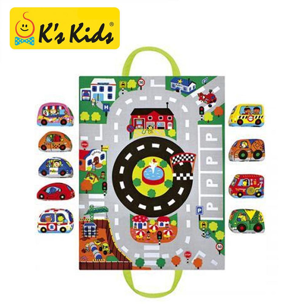 케이스키즈 헝겊놀이가방 자동차 (KA10665)