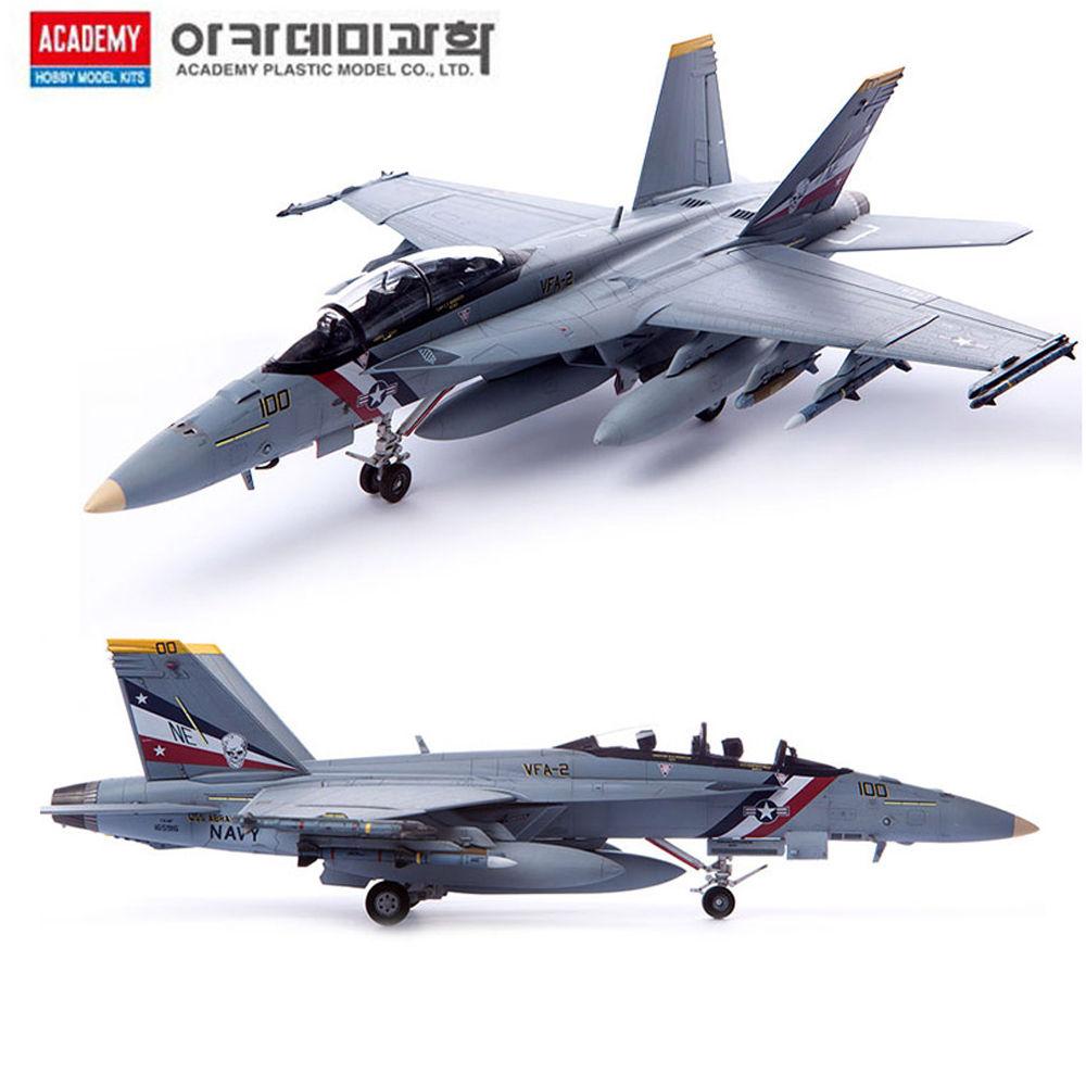 아카데미 1대72 미해군 FA-18F VFA-2 바운티헌터스 (12567)