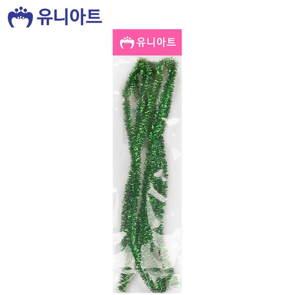 유니아트 (모루) 1000 반짝이 모루 (초록)