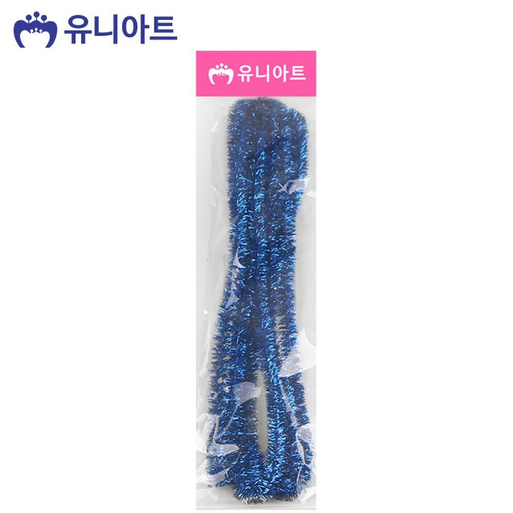 유니아트 (모루) 1000 반짝이 모루 (파랑)