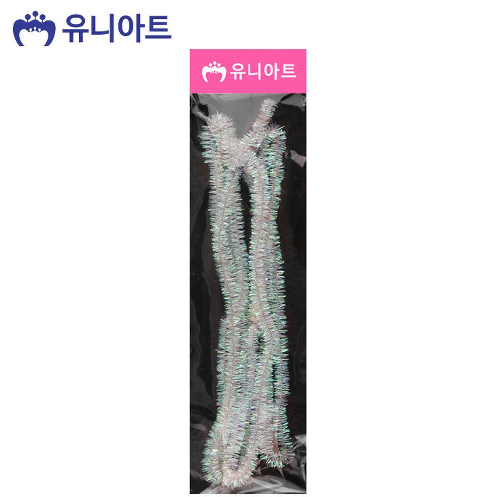 유니아트 (모루) 1000 반짝이 모루 (투명)