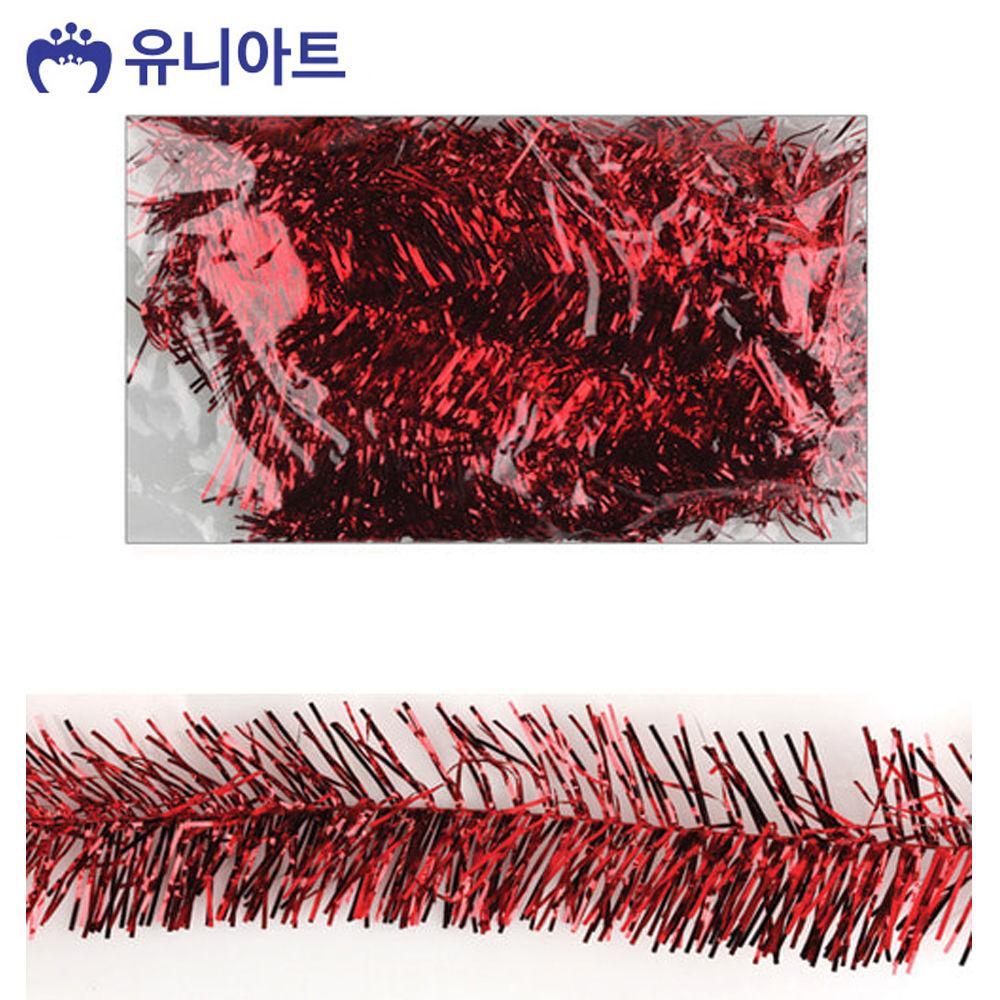 유니아트 (모루) 2000 철사 모루 (5개입) (빨강)