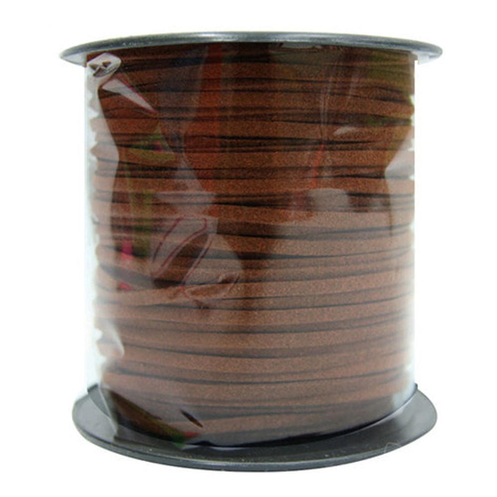 유니아트 (끈) 22000 롤 샤무드끈 (대) (진갈색)