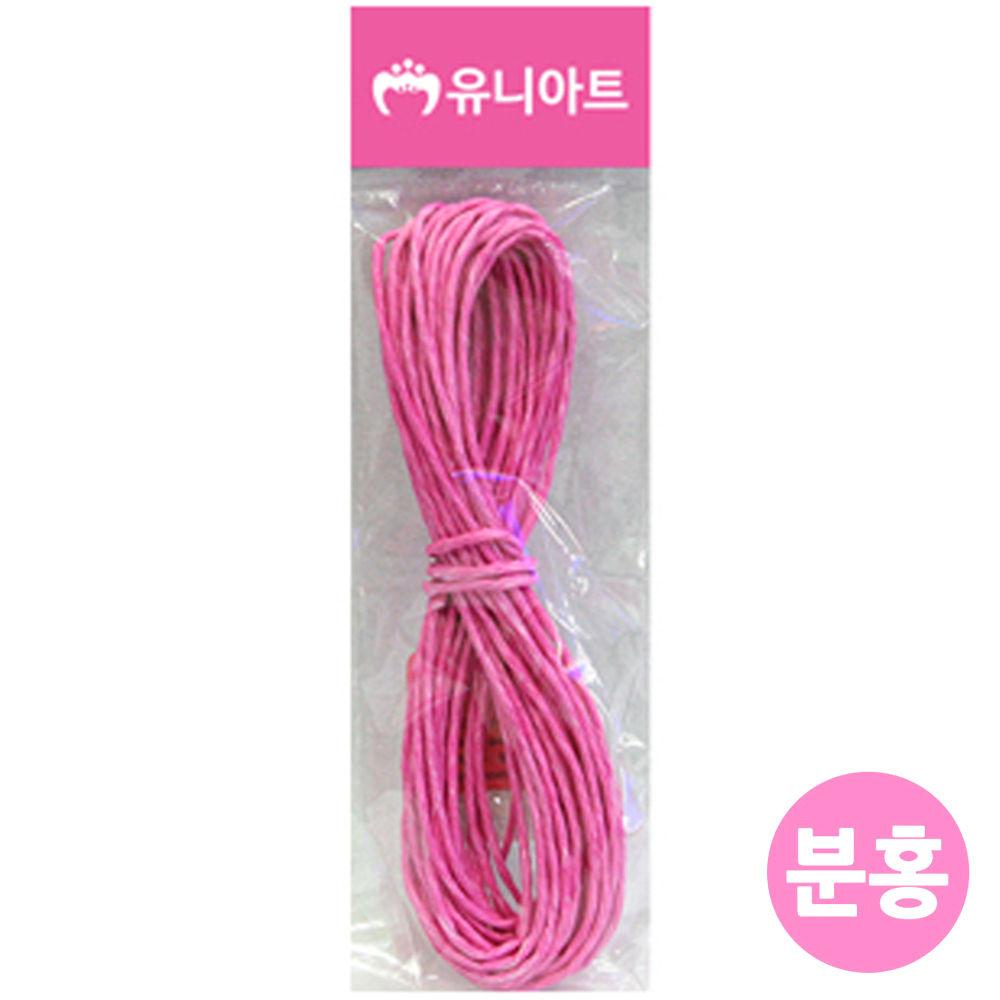 유니아트 (지끈) 1000 칼라 지끈 (2mm) (분홍)