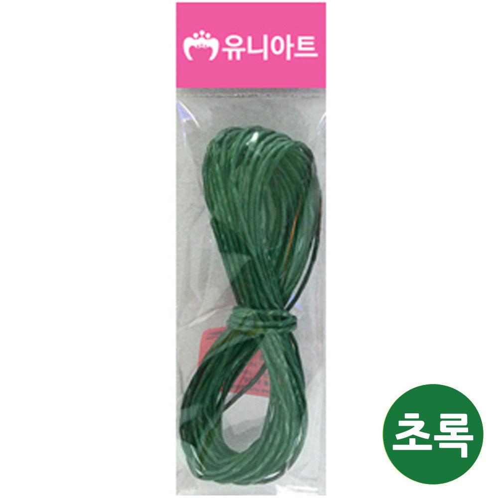 유니아트 (지끈) 1000 칼라 지끈 (2mm) (초록)