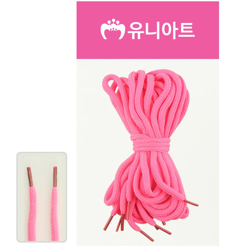 유니아트 (운동화끈) 1000 신발끈 (형광분홍)