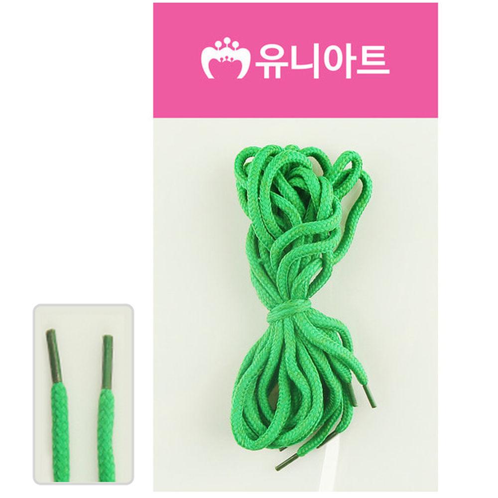 유니아트 (운동화끈) 1000 신발끈 (녹색)
