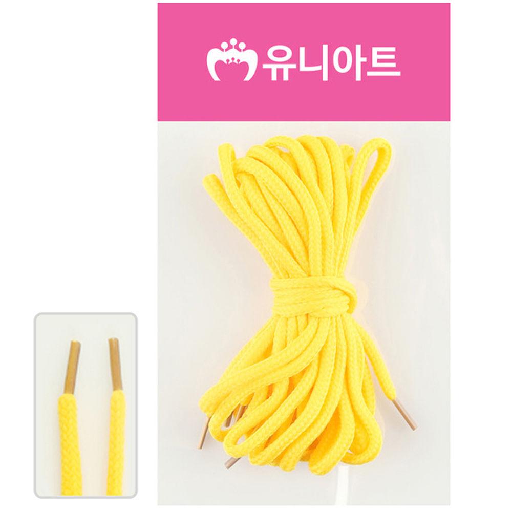 유니아트 (운동화끈) 1000 신발끈 (노랑)