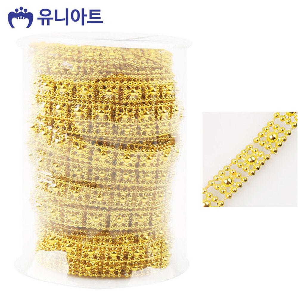 유니아트 (체인줄) 7500 롤체인줄 (no.8049) (금색)