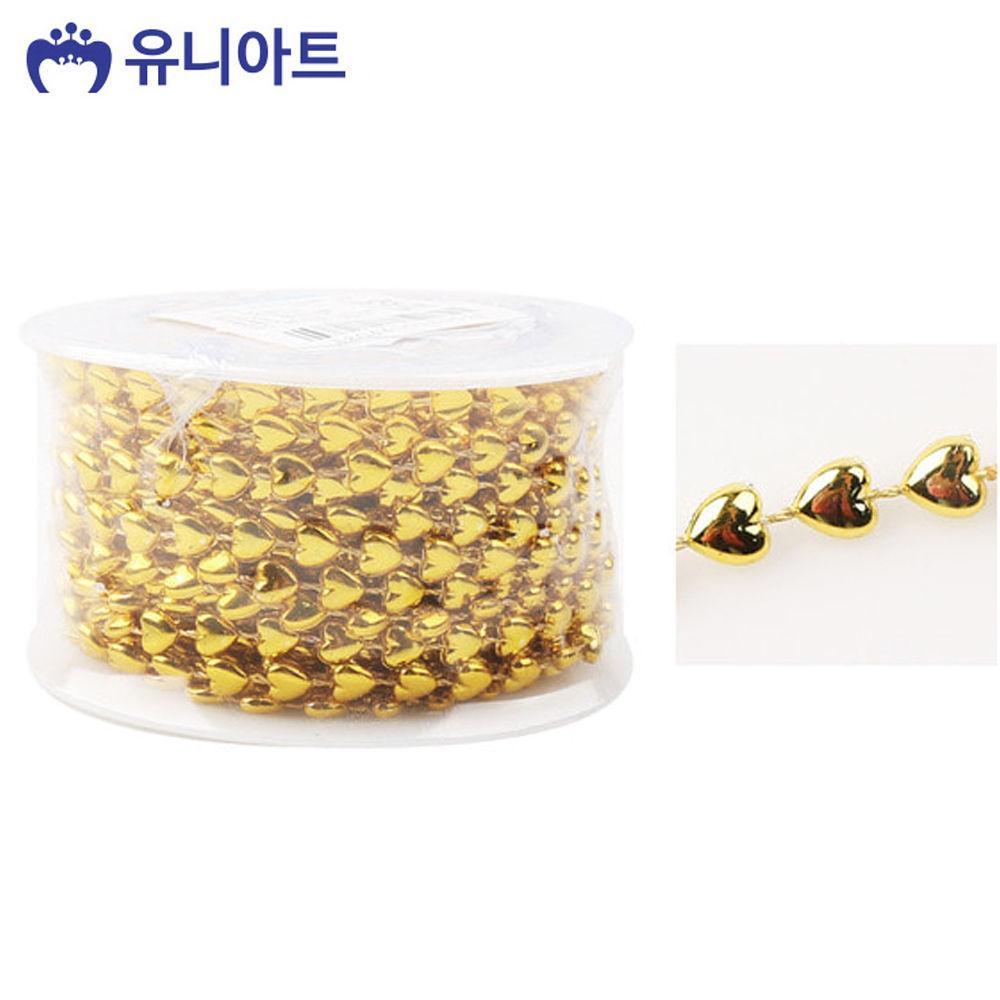 유니아트 (체인줄) 7500 롤체인줄 (no.8033) (금색)