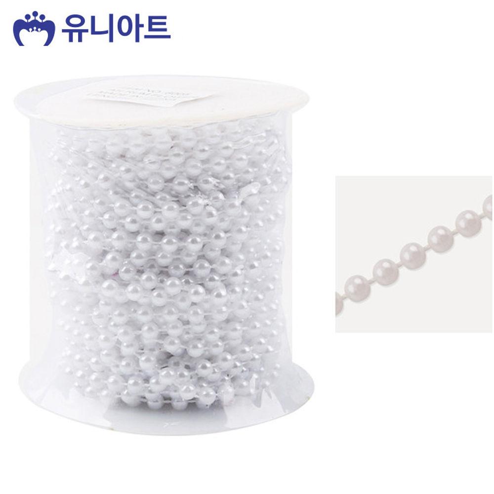 유니아트 (체인줄) 7500 롤체인줄 (no.8005) (흰색)