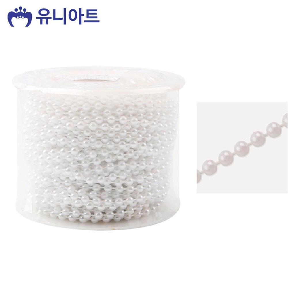 유니아트 (체인줄) 7500 롤체인줄 (no.8004) (흰색)