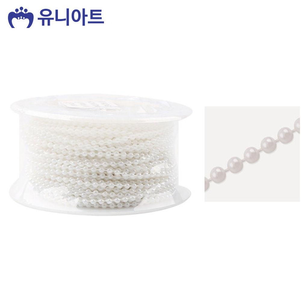 유니아트 (체인줄) 7500 롤체인줄 (no.8002) (흰색)