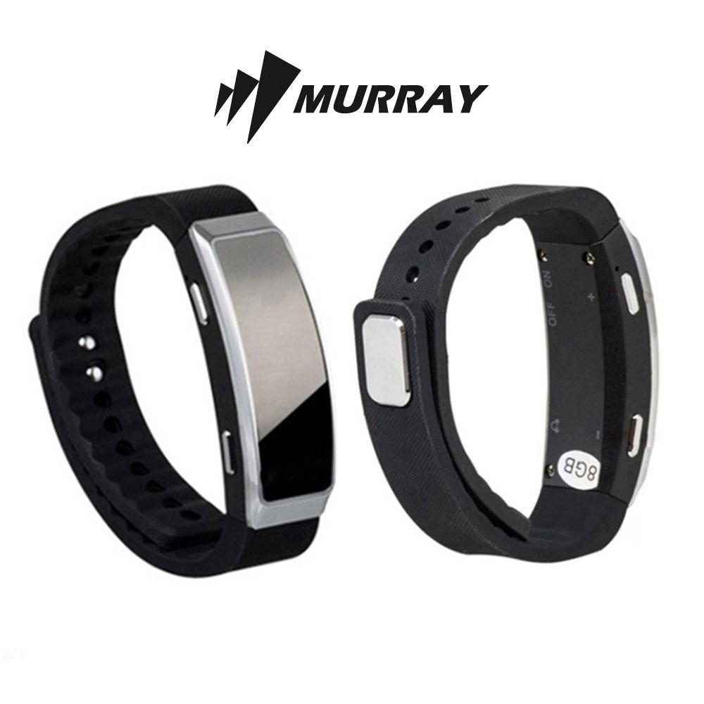 머레이 손목 시계형 보이스 레코더 (RV-1000) (블랙)